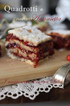 Italian Cookies, Italian Desserts, Fun Desserts, Italian Recipes, Dessert Recipes, Pumpkin Crunch Cake, Piece Of Cakes, Food Cravings, Dessert Bars