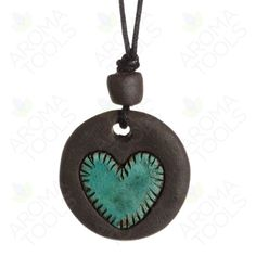 Treasured Heart Clay Pendant Diffuser