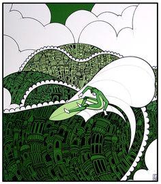 Artist: Tyler Warren Website: artbytylerwarren.com