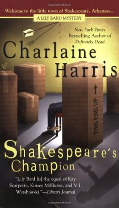 Shakespeare's Champion (Lily Bard Mysteries, Book 2) by Charlaine Harris http://www.amazon.com/dp/0425213102/ref=cm_sw_r_pi_dp_TZZNvb1ZFBKEJ