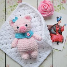 Crochet Amigurumi Mini Tutorials 34 Ideas For 2019 Crochet Animal Hats, Crochet Pig, Crochet Beanie Pattern, Crochet Amigurumi Free Patterns, Granny Square Crochet Pattern, Crochet Baby Shoes, Afghan Crochet Patterns, Crochet Dolls, Crochet Hats