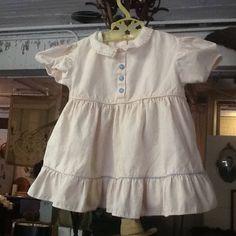 Vintage 1950's Pale Pink Dress by 3birdz on Etsy