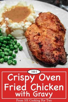 Healthier and easier, this is the best oven fried chicken breasts you will ever eat. Just follow these easy step by step photo instructions.