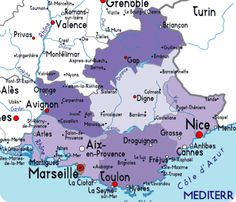 Map Of France Provence Places to travel to Pinterest