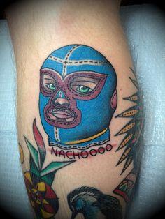 nacho libre | Tumblr; I love this man that got this tattoo.