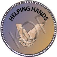 Helping Hands, Silver Award Pin