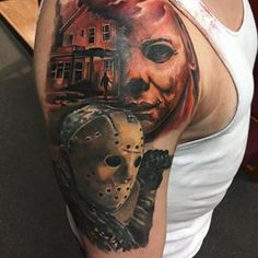 In progress horror sleeve