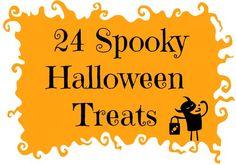 24 Spooky Halloween Treats