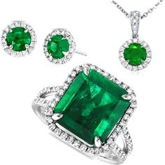 Emerald!! My birthstone!! And favorite color!! :))