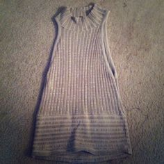High neck, sleeveless top Ribbed top. Absolutely love this top. Use to be a fav of mine:) Tops