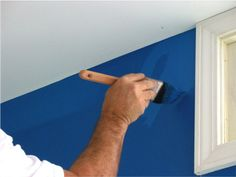 Interior painting: It's important to learn how to paint a room in the right order.