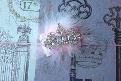 Princess Pink Birthday Girl Headband for Infant, Toddler, Girl on Etsy, $12.50