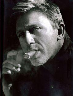 daniel. craig. cigar.