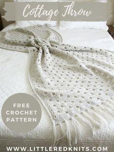 Easy Crochet Blanket, Crochet Blanket Patterns, Knit Patterns, Crochet Blankets, Crochet Scarves, Crochet Yarn, Free Crochet, Crochet Home, Tricot