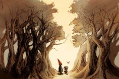 Wirt, Greg, and Beatrice Art Print by SydniArt | Society6