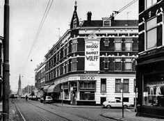 Rotterdam - Goudse Rijweg, met rechts de Ommoordsestraat.
