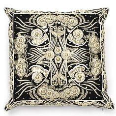 Luxe Christian Embroidery Pillow, So Beautiful, Sharing Hollywood Luxury Lifestyle Home Decor Inspirations & Gift Ideas Courtesy Of InStyle-Decor.com Beverly Hills Luxe   Designer Furniture & Interiors Enjoy & Happy