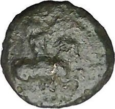HIMERA in SICILY 420BC Pan Goat Nike RARE R2 Authentic Ancient Greek Coin i50551 https://trustedmedievalcoins.wordpress.com/2015/12/28/himera-in-sicily-420bc-pan-goat-nike-rare-r2-authentic-ancient-greek-coin-i50551/