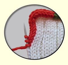 Today's post is about knitted-in-place I-cord bind-offs AND edgings. Along the way, I'll show you a little trick for two-color I-cord.  (To...
