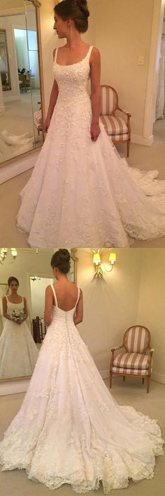 White bride dresses. Brides dream of having the most suitable wedding ceremony, however for this they need the most perfect bridal dress, with the bridesmaid's outfits complimenting the wedding brides dress. The following are a variety of suggestions on wedding dresses. #weddingdress