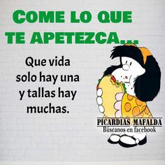 An animated gif. Make your own gifs with our Animated Gif Maker. Happy Quotes, Funny Quotes, Life Quotes, Funny Memes, Spanish Jokes, Funny Spanish Memes, Mafalda Quotes, Funny Picture Jokes, Funny Pics