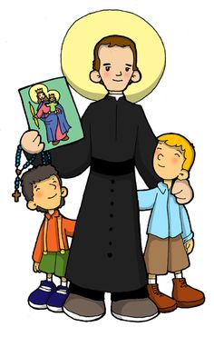 Dibujos para catequesis: DON BOSCO