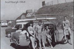 Scottburgh 1964 Surf Art, Back In The Day, South Africa, Surfing, Museum, Places, Happy, Painting, Surf