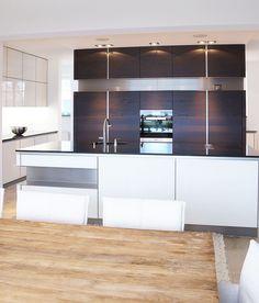 INTUO KÜCHE IN ALTEM HERRENHAUS Modern, Divider, Bathtub, Bathroom, Kitchen, Design, Furniture, Home Decor, Mansion