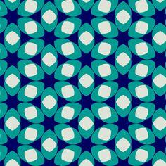 Van Ghent Blue fabric by stoflab on Spoonflower