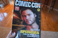Jared Padalecki on the cover of TV Guide Magazine's Comic-Con Special