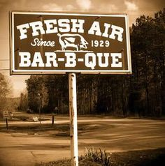 Known for its slow cooking methods and consistency of quality, Fresh Air Barbecue has been in continuous operation since Fresh Air serves barbecued pork, slaw, brunswick stew and more. There are locations in Jackson and Macon. Macon Georgia, Georgia Usa, Georgia On My Mind, Bbq Signs, Brunswick Stew, Blender Hollandaise, Hollandaise Sauce, Indian Springs, Georgie