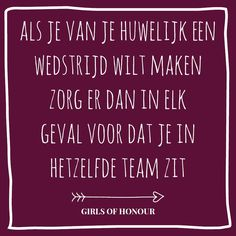 Ben jij net zo fanatiek als wij? // Girls of honour #liefde #liefdesquote #quote…