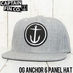CAPTAIN FIN キャプテンフィン OG Anchor 6 Panel Hat スナップバックキャップ CFA5511600 | BRAND,CAPTAIN FIN | LUG Lowrs