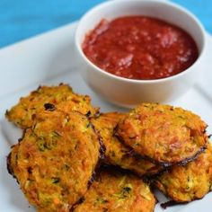Cheesy Sweet Potato and Zucchini Bites