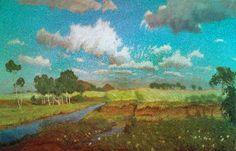 Fritz Overbeck: Sommerwolken