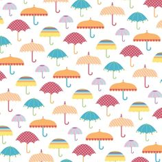 Free Rainy Days patterned craft papers. 6 backgrounds, plus borders, toppers and more!