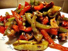 kuvarica na trapezu: Konfučijanska piletina sa povrćem