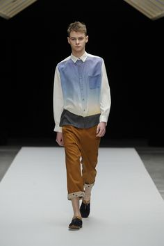 FALL 2013 READY-TO-WEAR  Jun Okamoto..... (The shirt = yes, the rest = no. Ev)