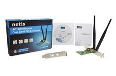 Netis WF2166 AC1200 900Mbps Wireless Dual Band PCI E Adapter | eBay