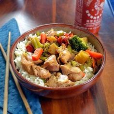 Chicken Recipe : Crock-Pot Chicken Stir Fry