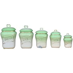 French 1950s Kitchen Jars , The, Cafe, Sucre