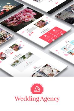 Honeymoon - Wedding Agency HTML Landing Page Template Page Template, Website Template, Templates, Event Landing Page, Landing Page Inspiration, Charity Event, Advertising Design, Design Bundles, Teaser