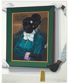 Kerry James Marshall (B. 1955) Still Life with Wedding Portrait Price realised USD 5,037,500 Estimate USD 1,000,000 - USD 1,500,000