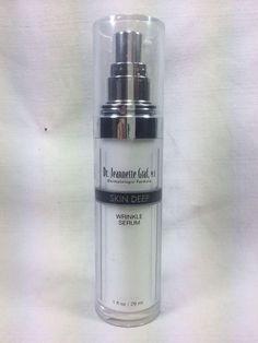 Dr. Jeannette Graf, M.D. Skin Deep Wrinkle Serum 1 FL OZ moisturizer #DrJeanetteGraf