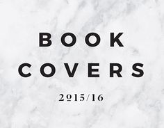 "Check out new work on my @Behance portfolio: ""Book Covers 2015/16"" http://be.net/gallery/41072469/Book-Covers-201516"