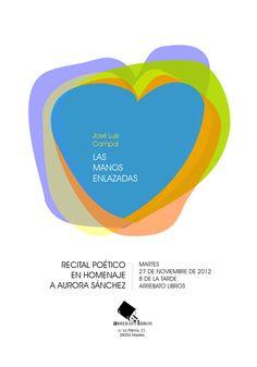 """Diseño de cartel para el recital """"Las manos enlazadas"""" - 2012"""