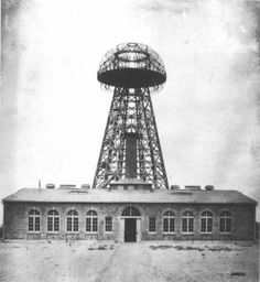 """Tesla was right and we are ready to prove it!"""" So say the two Russian physicists who have just launched an Indiegogo campaign to rebuild Nikola Tesla's Wardenclyffe Tower in Fall, Nikola Tesla, Wardenclyffe Tower, Tesla Free Energy, Tesla Patents, Transmission Tower, Site Art, New Tesla, Power Tower, Tesla Coil"""