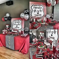 Pixar Cars 1 Birthday Party, cars party theme, ankaraorganizasyon, birthdayorganization, birthday party, cars party theme