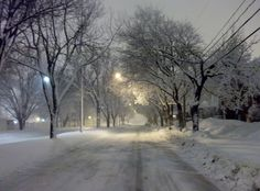 Trois Rivières sous la neige