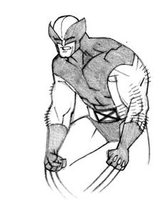 Wolverine by Cory Walker - http://corenthal.blogspot.com/